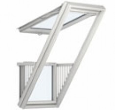 Окно-балкон и терраса