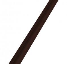 Труба 40х20х1,0мм коричневый RAL 8017
