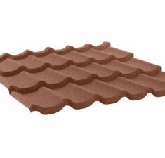 Лист КЧ GL Classic 3-волновый шоколад
