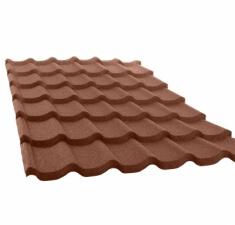 Лист КЧ GL Classic 6-волновый шоколад