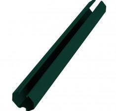 Направляющая 60х20х2500мм зеленый RAL 6005