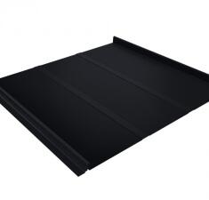 Кликфальц Профи GL 0,5 Quarzit matt с пленкой RAL 9005
