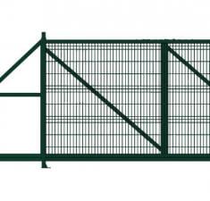 Ворота откатные Profi 2,03х6,0 RAL 6005 влево