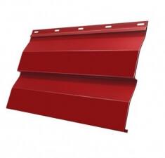 Корабельная Доска 0,265 0,45 PE с пленкой RAL 3003 рубиново-красный