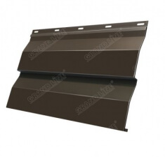 Корабельная Доска 0,265 GL 0,5 Quarzit lite с пленкой RR 32 темно-коричневый