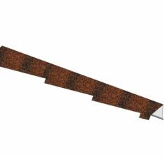 Планка фронтонная правая D_Cl античный красный