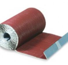 Гофрированная лента для примыканий F-2 (алюминий) Luxard красный