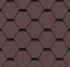 Натурально-коричневый