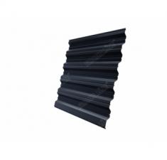 Металлочерепица камея 0,45 Drap RAL 7024