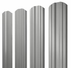 Металлочерепица классик 0,45 PE RAL 9006
