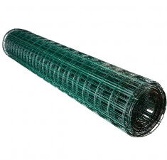 Сетка Europlast 2,20Х100Х50мм 2,0х25м зеленый RAL 6005