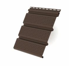 Софит T3 полностью перфорированный Grand Line 3,0 коричневый (slim)