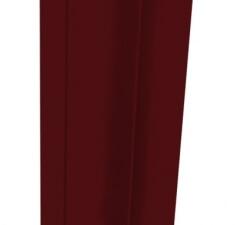 Стойка 84х48мм вишневый RAL 3005