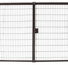 Ворота Medium Lock 1,73x3,5 RAL 8017