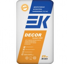 Камешковая (1,2 мм) EK DECOR System MW,PPS