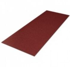 Лист плоский Lux_Cl Rom большой (600мм) бордо