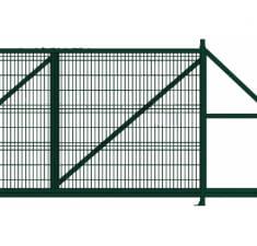 Ворота откатные Profi 2,03х6,0 RAL 6005 вправо