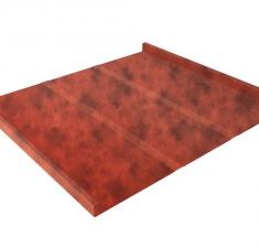 Фальц двойной стоячий Профи GL 0,5 Safari Twincolor с пленкой Orange