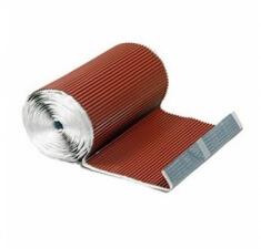 Гофрированная лента для примыканий F-2 (алюминий) Luxard коричневая