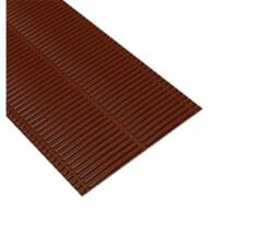 Ребристый желобок для обустройства ендовы 1,6м Luxard коричневый