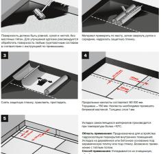 Инструкция гидроизоляции
